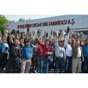 Tofaş İşçileri grevde