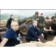 Enis Berberoğlı Erdoğanile birlikte Şemdinli Gediktepe'de